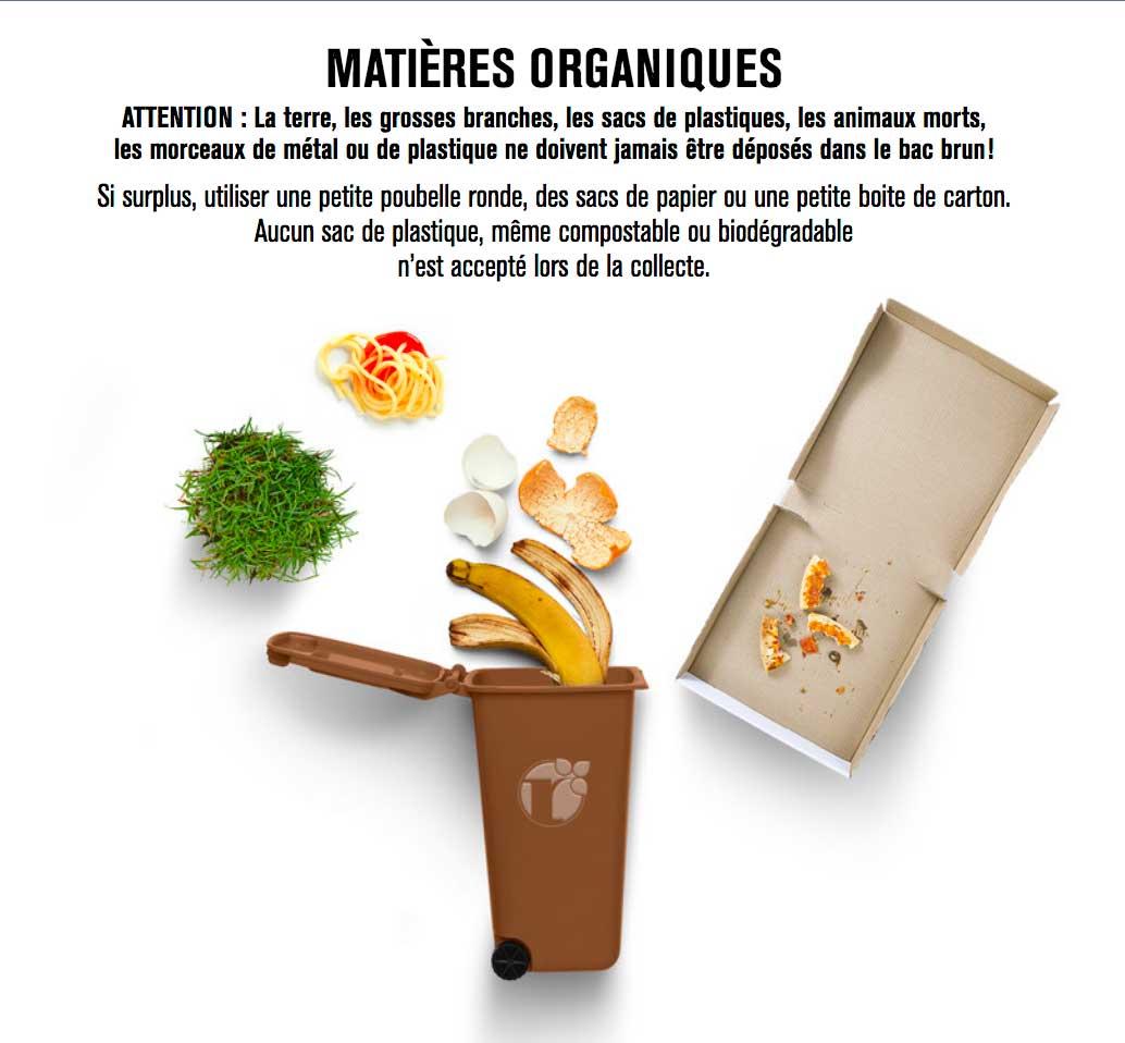 Collecte des matières organiques